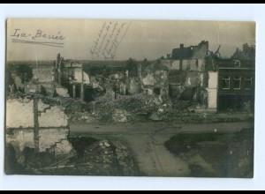 T7129/ La Bassee zerstört Foto AK Frankreich 1. Weltkrieg ca.1915