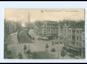 T7251/ Belgien Bruxelles-Schaerbeek Avenue Louis Bertrand AK