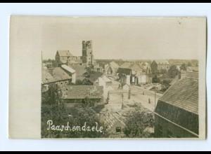 T7140/ Paaschendaele Belgien Foto AK 1. Weltkrieg ca.1915