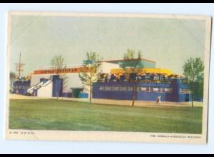 Y7055/ Chicago A Century of Progress German-American Building 1933 USA AK