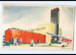 Y7053/ Chicago A Century of Progress Italian Building 1933 USA AK