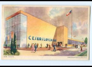 Y7048/ Chicago A Century of Progress Czechoslovakian Building AK 1933 USA