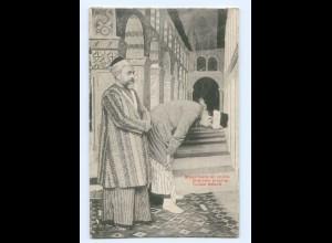 Y7486/ Türkei Türke betend Mosloms praying AK ca.1910