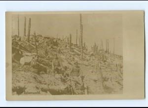 T7117/ Rabenwald vor Verdun Soldaten Foto AK Frankreich 1. Weltkrieg