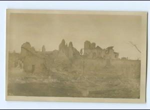 T7124/ Brimont zerstört Foto AK Frankreich 1. Weltkrieg 1916