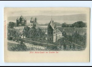 Y6822/ Abtei Maria-Laach am Laacher See Reliefkarte AK