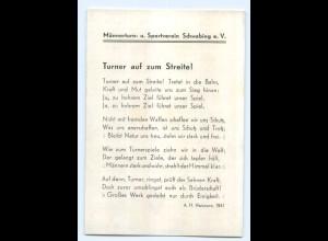 Y7489/ München Schwabing Männerturn- u. Sportverein ca.1925