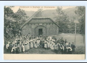 Y6977/ Harzfestspiele im Bergtheater am Hexentanzplatz AK Thale ca.1910