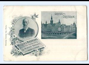T7937/ Dresden Mellin`s Nahrung für Kinder, Kranke AK ca.1900