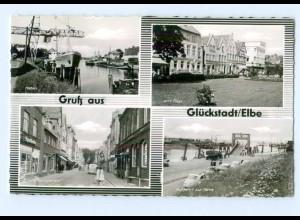 T7869-2208/ Gruß aus Glückstadt AK