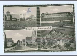 T8948-2053/ Schwarzenbek Königsbergerallee, Schule AK ca.1960