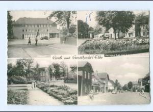 T8779-2054/ Geesthacht Postamt, Lauenburger Str. AK ca.1955-60