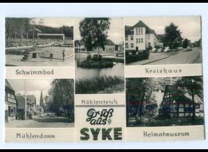T8424-2808/ Gruß aus Syke AK