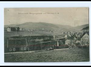 T8859-965./ Mengersgereuth und Hämmern AK 1912 Thüringen
