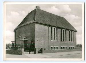 Y10418/ Hamburg Barmbeck Schwalbenstr. Neuapostolische Kirche Foto AK ca.1955