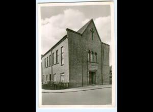 Y10403/ Itzehoe Gartenstraße 25 Neuapostolische Kirche Foto AK ca.1955