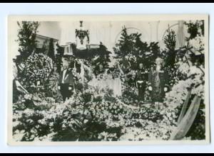 T9682/ Prinz Hendrik Beerdigung Trauerfeier Foto AK 1934 Niederlande