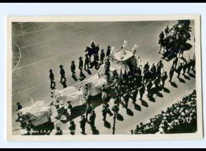 T9680/ Prinz Hendrik Beerdigung Trauerfeier Foto AK 1934 Niederlande