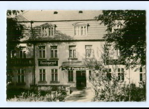 T9720-193./ Ludwigslust HO-Gaststätte Park Hotel Foto AK 1961