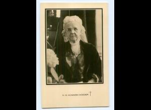 T9694/ H.M. Koningin Moeder Trauer AK Niederlande
