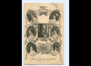 T9630/ Strand-Damen-Orchester AK 1911 Musik