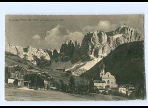Y7584/ Tires col Cotinaccio Dolomiten AK 1925 Italien