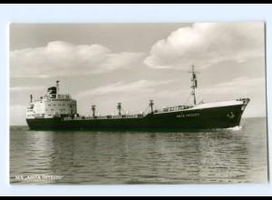 """Y7666/ Handelsschiff Tanker M/S Anita Thyssen """"Frigga"""" Seeschiffahrt-Ges."""
