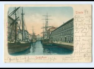 U829/ Trieste Italien AK ca.1900