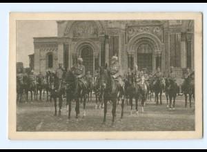 U832/ Einzug des General-Feldmarschall Prinz Leopold in Warschau Polen AK 1915