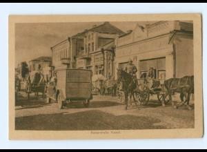 U726/ Kowel Kaiserstraße Ukraine 1. Weltkrieg AK 1917