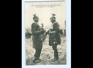 U916/ Die ältesten Generäle Graf Häseler und Graf Zeppelin Foto AK ca.1914
