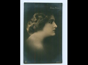 Y7654/ Henny Porten schöne NPG Foto AK ca. 1920 Schauspielerin