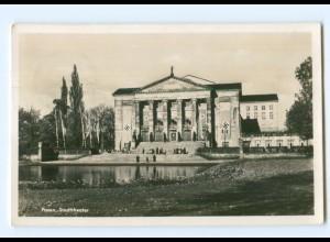 U1260/ Posen Stadttheater Foto AK 1941