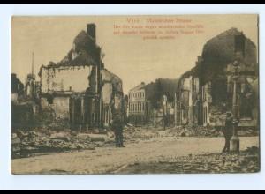 U1023/ Vise Belgien Maastrichter Straße 1. Weltkrieg AK 1914