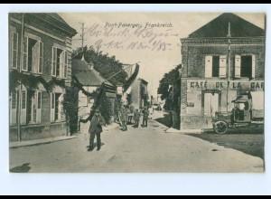 U955/ Pont-Faverger 1. Weltkrieg AK Frankreich 1916