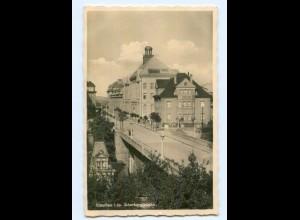 U1242-083./ Glauchau Scherbergbrücke 1932 Foto AK