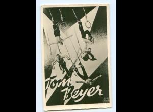 U1091/ Tom Beyer Artist Variete Zirkus Foto AK ca.1935 Fotomontage