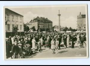 U1920/ Trondheim Torvet Foto AK ca.1940 Norwegen