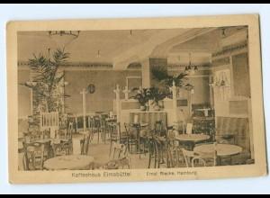 U1804/ Hamburg Kaffeehaus Eimsbüttel AK ca.1915