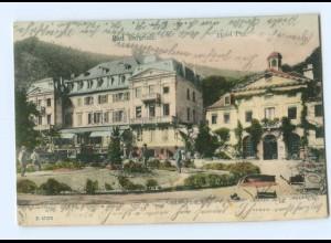 Y7867/ Bad Bertrich Hotel Pitz 1904 AK