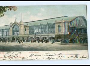 Y7815/ Hamburg Dammtorbahnhof AK 1906