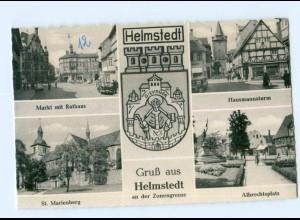 Y7963/ Gruß aus Helmstedt an der Zonengrenze AK