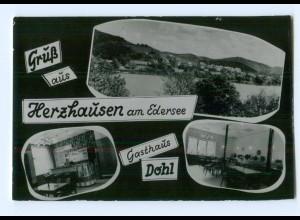 Y8246/ Gruß aus Herzhausen am Edersee AK