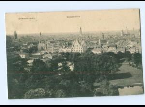 Y8242/ Braunschweig Totalansicht 1910 AK