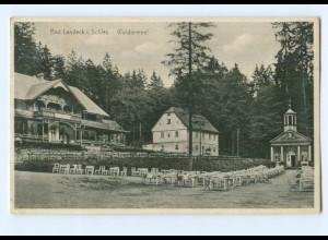 Y8382/ Bad Landeck Schlesien Waldtempel AK 1932