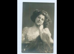 Y8214/ Junge Frau schöne Foto AK Rotophot 1910