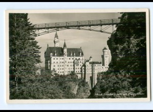 Y8221/ Schloß Neuschwanstein Foto AK 1936