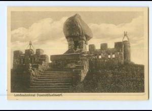 Y8203/ Landesdenkmal Dusenddüwelswarf in Dithmarschen AK 1926