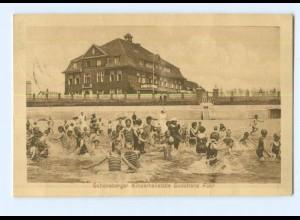 Y8108/ Föhr Südstrand Schöneberger Kinderheilstätte 1928 AK