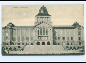 Y8197/ Stettin Museum AK Pommern ca.1910
